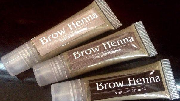 Хна для бровей Brow Henna — где можно приобрести, цена и отзывы