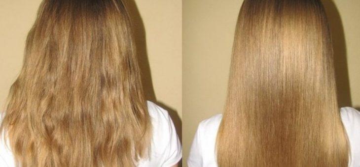 Ламинирование волос в домашних волос