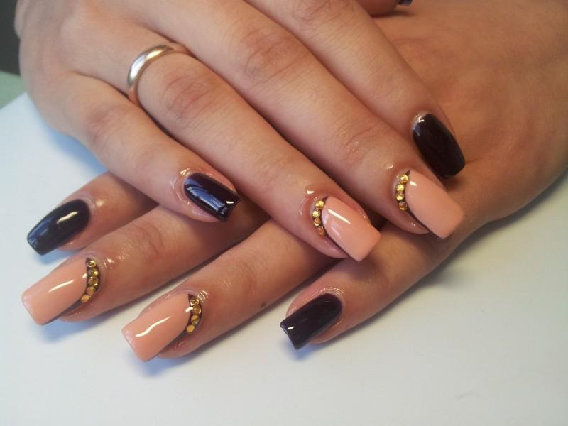 Рисунки гель-лаком на ногтях