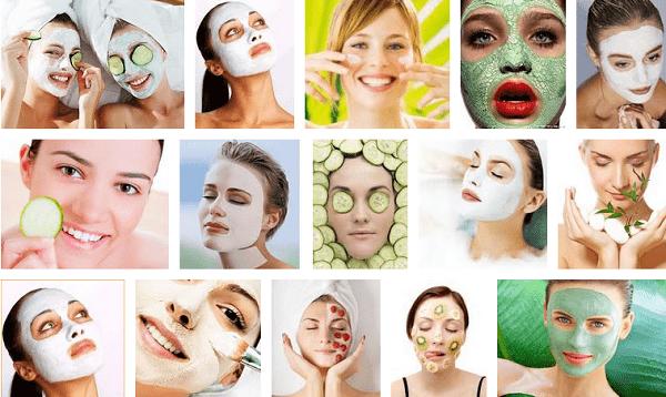 Примеры масок для лица