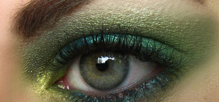 Макияж для зеленых глаз: 50 лучших идей для различных ситуаций
