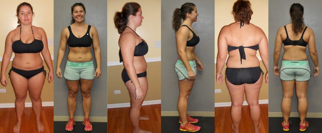 Похудела с помощью фитнеса отзывы