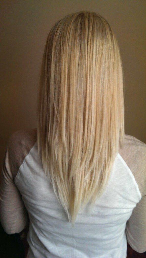 Прическа для овального лица на длинные волосы