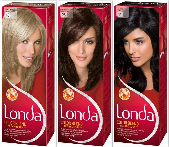 Краска для волос Londa Professional - палитра цветов