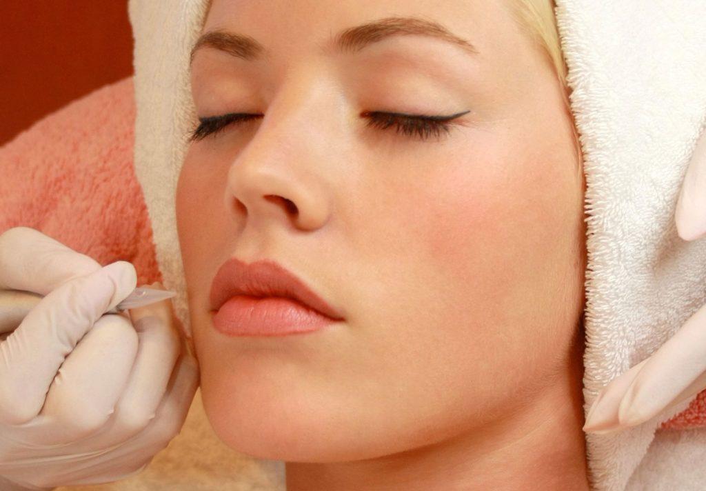 Перманентный макияж губ проведение процедуры