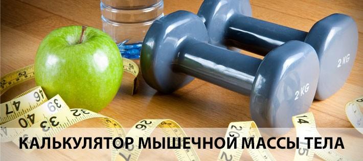 Калькулятор определения мышечной массы тела
