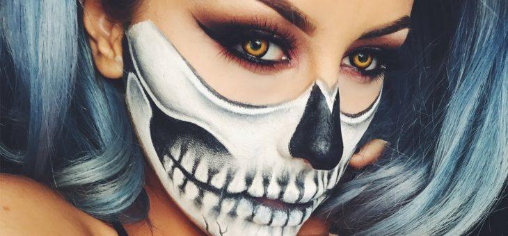Макияж на Хэллоуин для девушек: советы и фото идеи