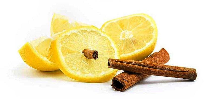 Маска из корицы и лимона