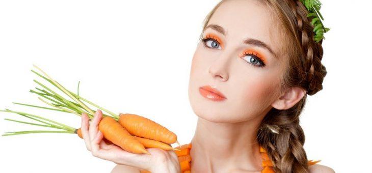 Маски из моркови в домашних условиях